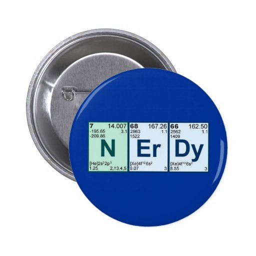 NErDy Pinback Button