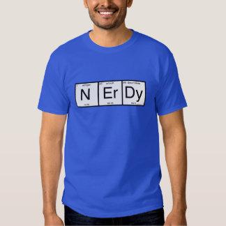 Nerdy Playera