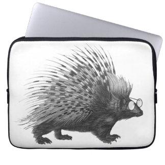 Nerdy Porcupine Laptop Sleeve