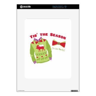 Nerdy Season Decals For iPad