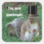 Nerdy Squirrel Sticker