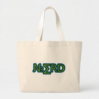 Nerdy thing large tote bag