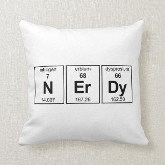 NErDy Throw Pillow