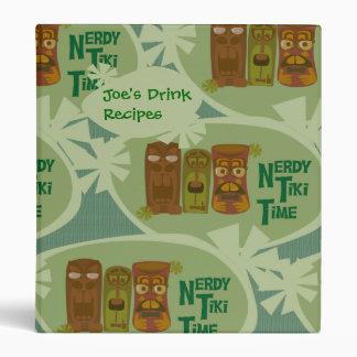 Nerdy Tiki Time Custom Binder