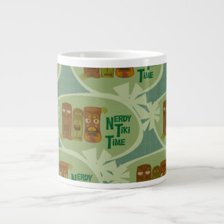 Nerdy Tiki Time Giant Coffee Mug