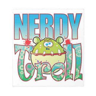 Nerdy Troll Notepads