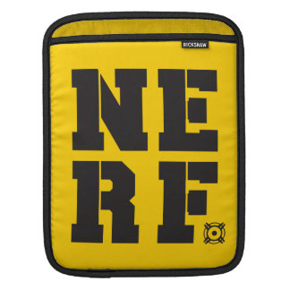 Nerf Block - Black iPad Sleeve