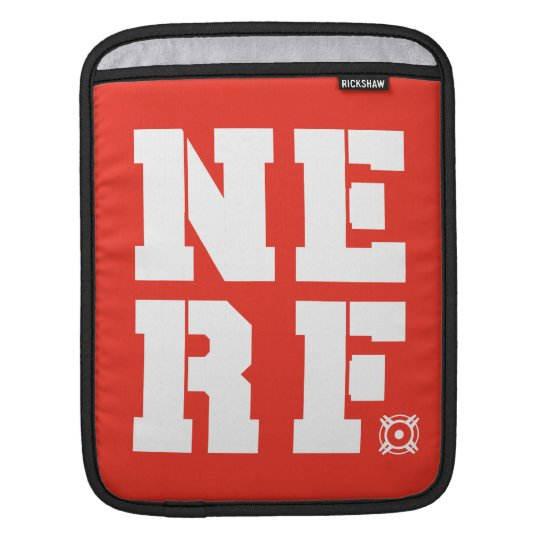 Nerf Block - White Sleeve For iPads