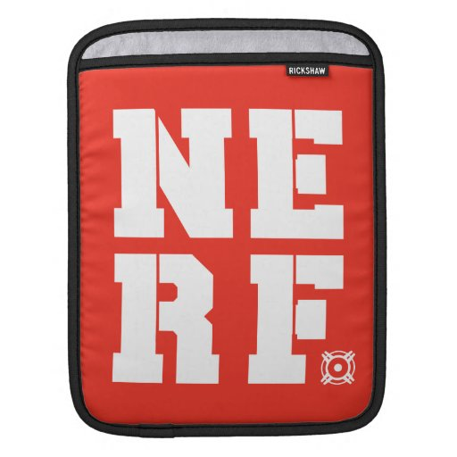 Nerf Block - White Sleeves For iPads