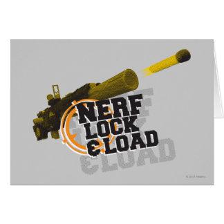 Nerf Lock & Load Card