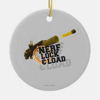 Nerf Lock & Load Ornament