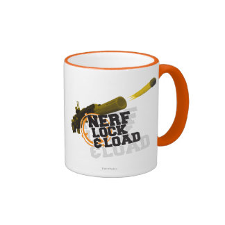 Nerf Lock & Load Ringer Coffee Mug