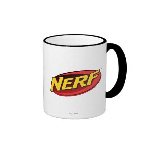Nerf Logo Ringer Coffee Mug