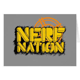 Nerf Nation Card