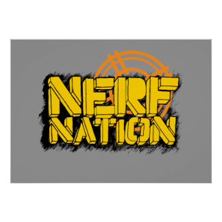 Nerf Nation Print