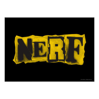 Nerf Rebel - Yellow Poster