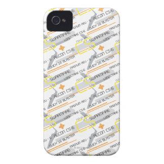 Nerf renovado Case-Mate iPhone 4 coberturas