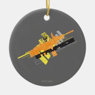 Nerf Stampede Ornament
