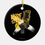 Nerf Strike 2 Ceramic Ornament