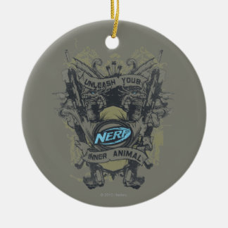 Nerf - Unleash Your Inner Animal Ceramic Ornament