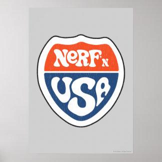 Nerf'n USA Poster