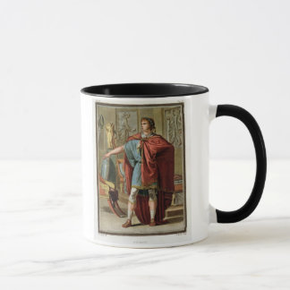 Nero, costume for 'Britannicus' by Jean Racine, fr Mug