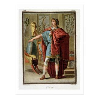 Nero, costume for 'Britannicus' by Jean Racine, fr Postcard