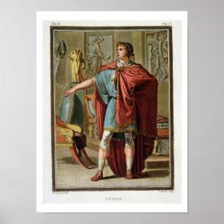 Nero, costume for 'Britannicus' Poster