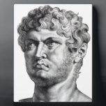 "Nero Plaque<br><div class=""desc"">emperor of the Roman Empire</div>"
