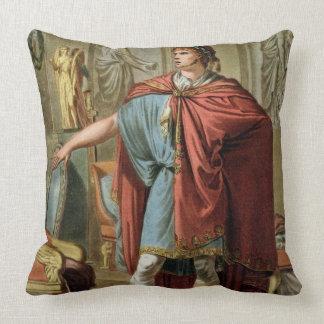 Nero traje para Britannicus por Jean Racine fr Almohada