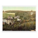 Neroberg, magnifi de Wiesbaden, Hesse-Nassau, Alem Postales