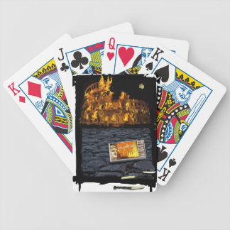 Nerone Matches Bicycle Playing Cards