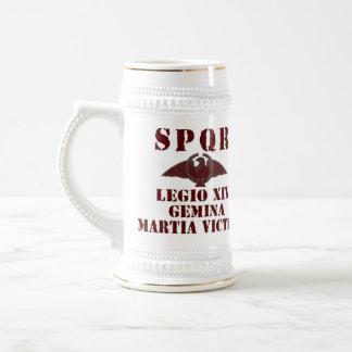 Nero's 14th 'Mars Victorious' Roman Legion Stein 18 Oz Beer Stein