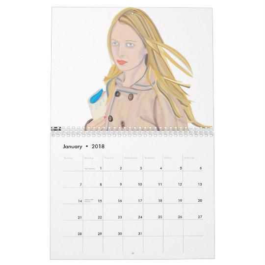 nerosunero Calendar 2012