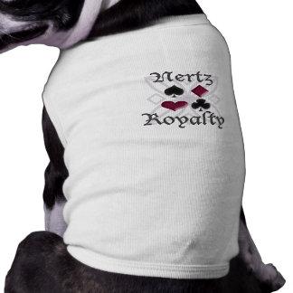 Nertz Royalty Doggy Tee Dog Clothes