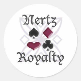 Nertz Royalty Stickers