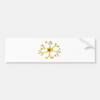 Nerve cell neuron bumper sticker