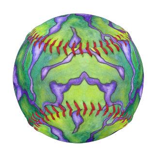 Nerve Pattern Watercolor Baseball
