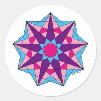 Nerve Tonic Classic Round Sticker