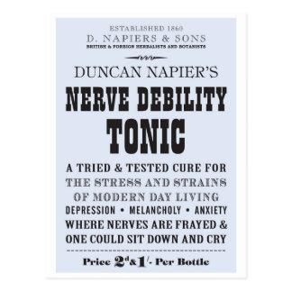 Nerve Tonic Postcard