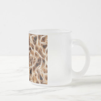 Nerves Neurons Frosted Glass Coffee Mug