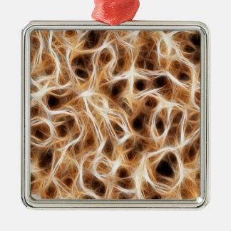Nerves Neurons Metal Ornament