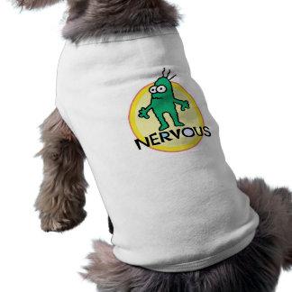 Nervioso Camisetas De Perrito