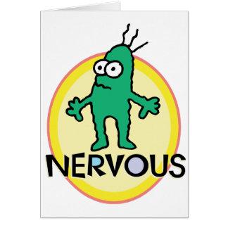 Nervioso Felicitación