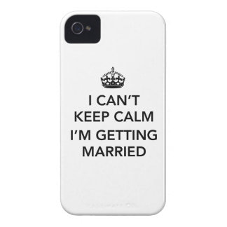 Nervous Bride or Groom Case-Mate iPhone 4 Case