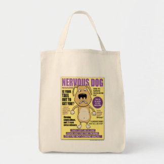 Nervous Dog Magazine tote bag