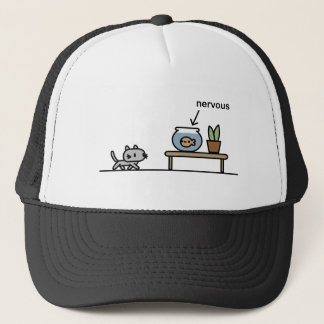 Nervous Fish Trucker Hat