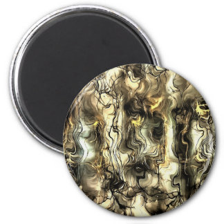 Nervous Tension 2 Inch Round Magnet