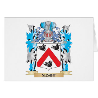 Nesbit Coat of Arms - Family Crest Cards