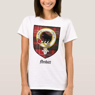 Nesbitt Clan Crest Badge Tartan T-Shirt